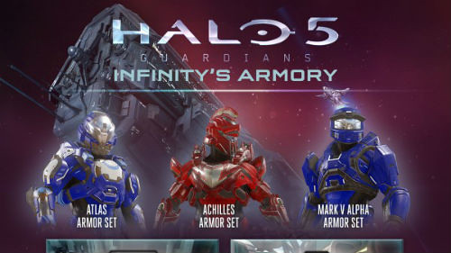 Halo 5: Guardians – Infinity's Armory Image released