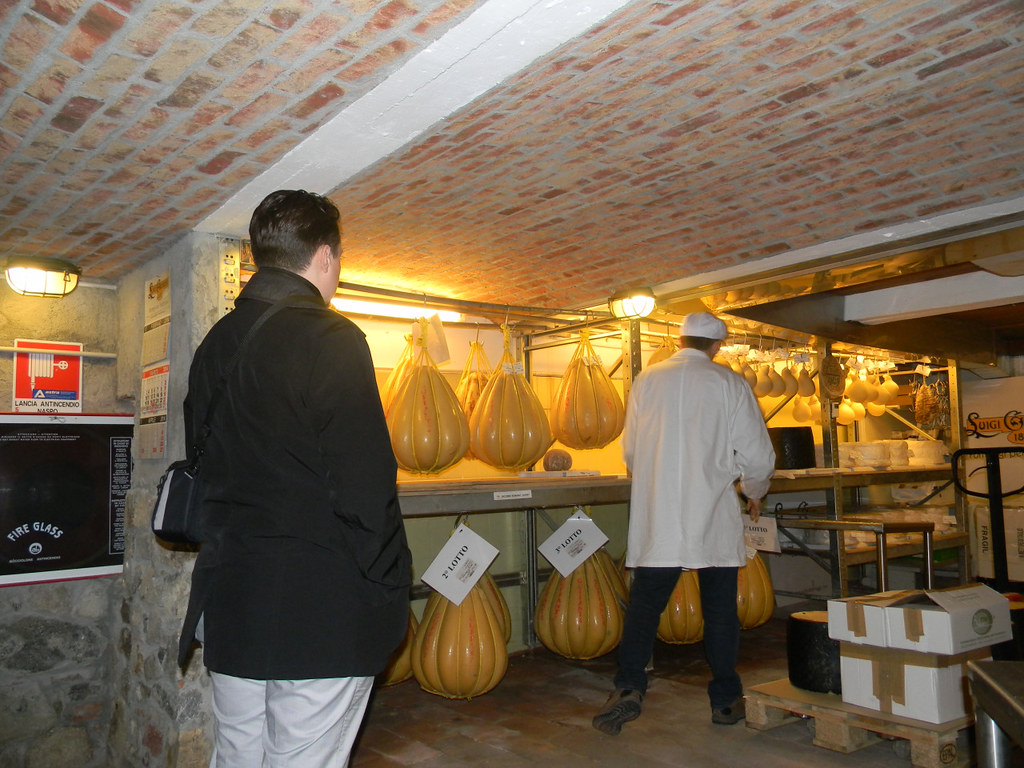 A Trip to a Cheese Cave, Arona, Piedmont, Italy 1