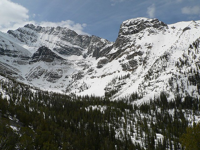North Face of Mount Borah
