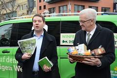 Start der Wahlkampftour von Winfried Kretschmann
