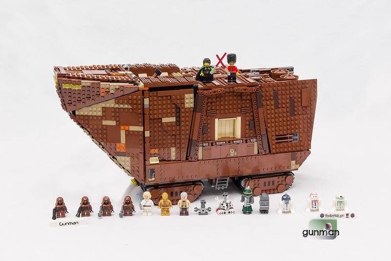 ThebrickReview:LEGO 75059-1 UCS Sandcrawler 24251000546_6ff0b6f3f1_c
