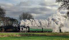30053 charter 11/1/16 Timeline/Steamscenes Swanage Railway