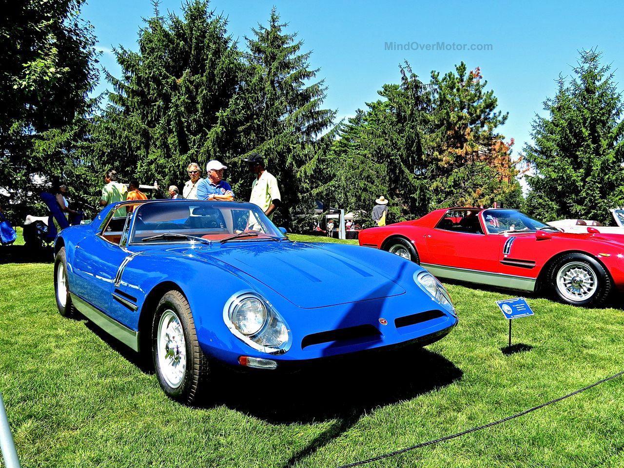 Bizzarrini 5300 Spyder Trio Concours of America 6