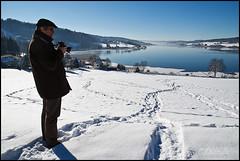 Scéance photo en hiver