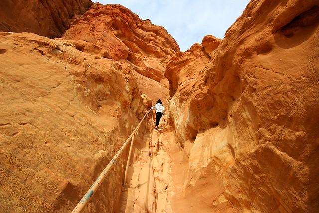 hiking in Timna park - Negev-Desert - Israel