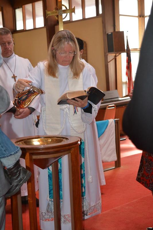 Baptisms at St. B