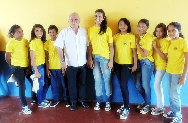 Reinauguração da Escola Virgílio de Aguiar