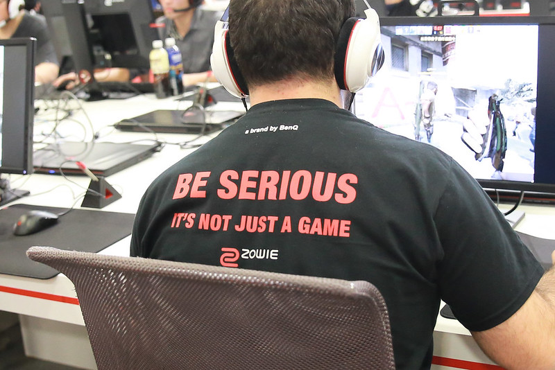 Be serious. It's not just a GAME.