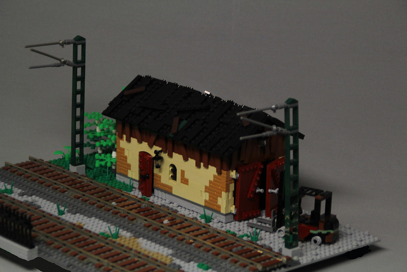 Mod Of Werners Moc Old Garage Lego Town Eurobricks Forums