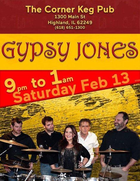 Gypsy Jones 2-13-16