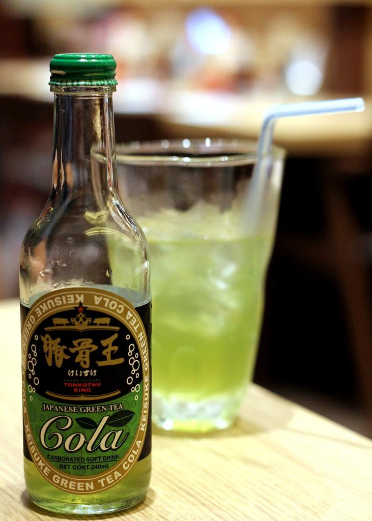Ramen Keisuke Lobster King Green Tea Cola