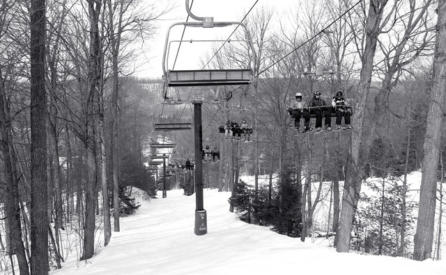 Under the South Hill Chairlift