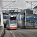 tram komt de Prinses Irenetunnel uit by Gerard Stolk (vers le Chandeleur)