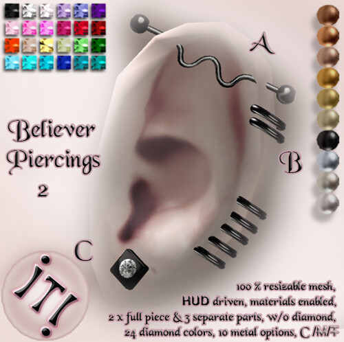 !IT! - Believer Piercings 2 Image