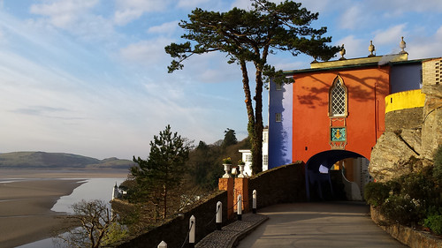 Morning in Portmeirion