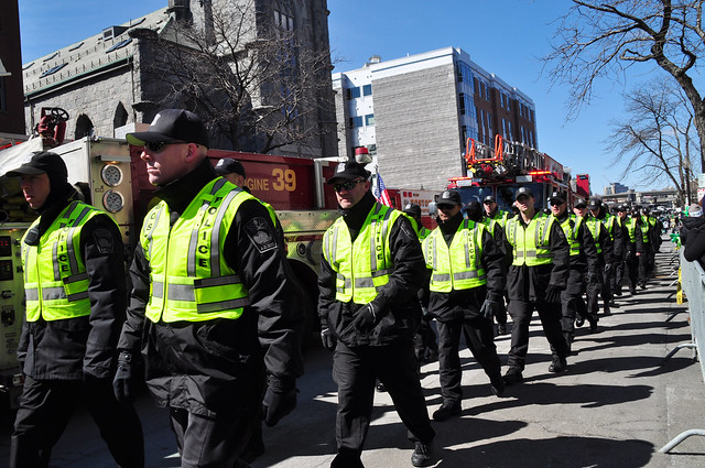 St. Patrick's Day Parade in Boston, Ma. 2014
