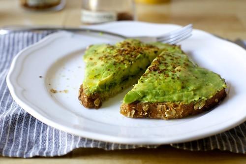 nolita-style avocado toast