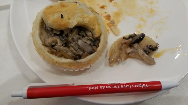 2016-Mar-26 Chef Tony - baked Mushroom Pastry