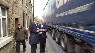 Transport Minister visit to Glossopdale