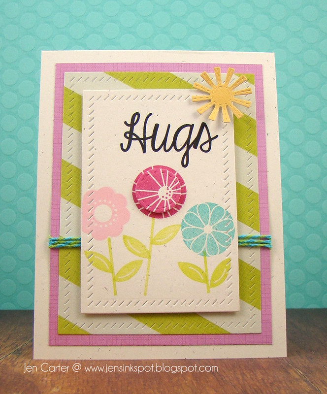 Jen Carter Spot On Spring Hugs Front