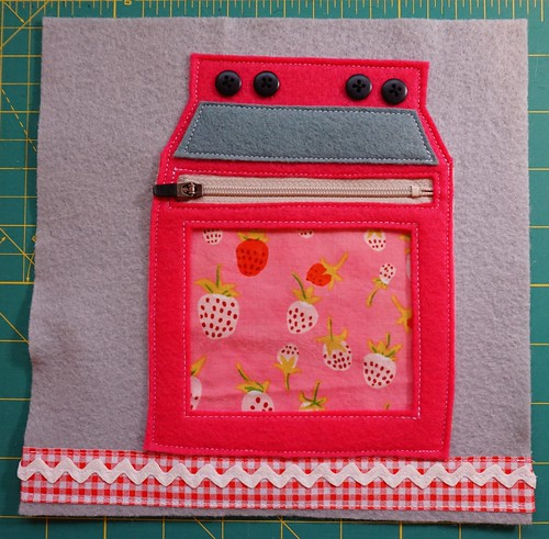 Quiet Book - Baking & Counting Cupcakes