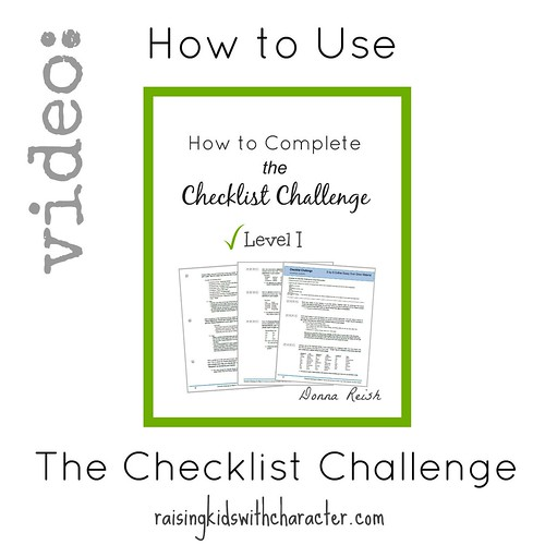 Video: How to Use The Checklist Challenge