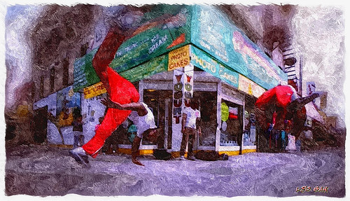 Photo Cakes - Breakdancing