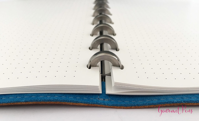 Review @WilliamHannahUK Whiskey & Kingfisher Leather Notebook (32)