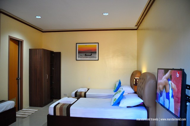 Single Beds at Family Room Rema Tourist Inn