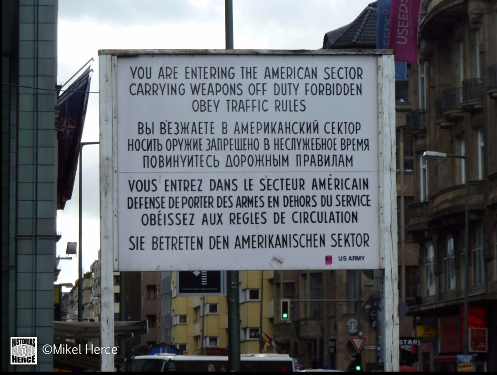 84. Checkpoint Charlie
