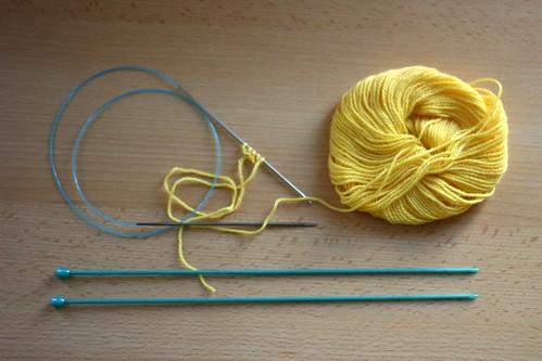Comment tricoter en aller-retour avec des aiguilles circulaires