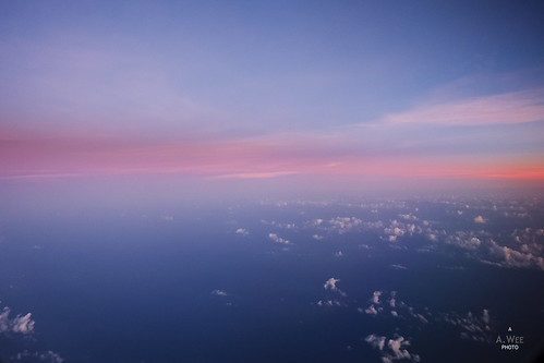 china sea sunrise flying inflight south 日出 中南海 飞行