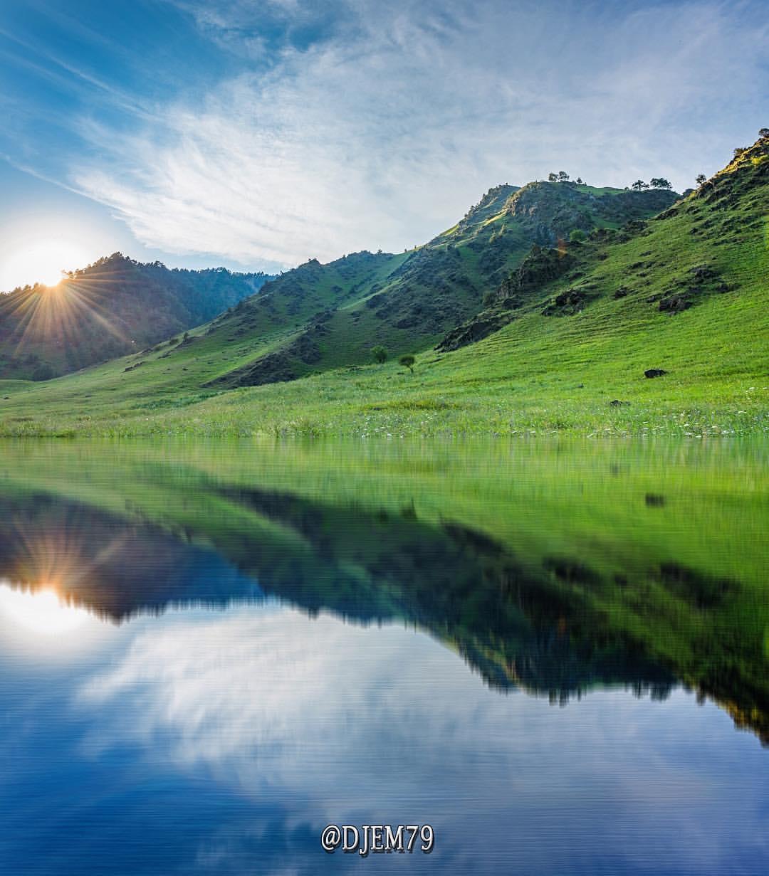 озера при эльбрусе