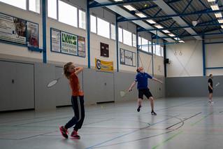 Badminton Jubiläumsfeier 13.3.2016