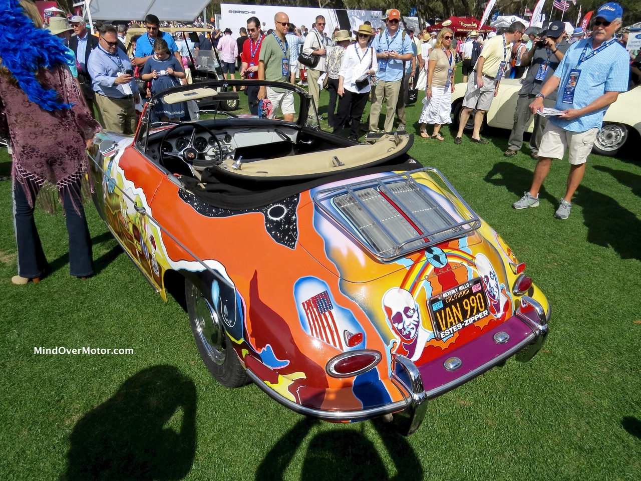Janis Joplin Porsche 356C Rear