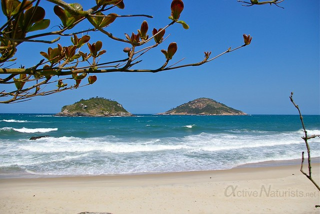 view 0000 praia Abrico, Rio de Janeiro, Brasil