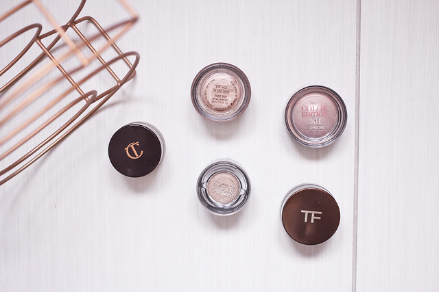 cream eyeshadow edit