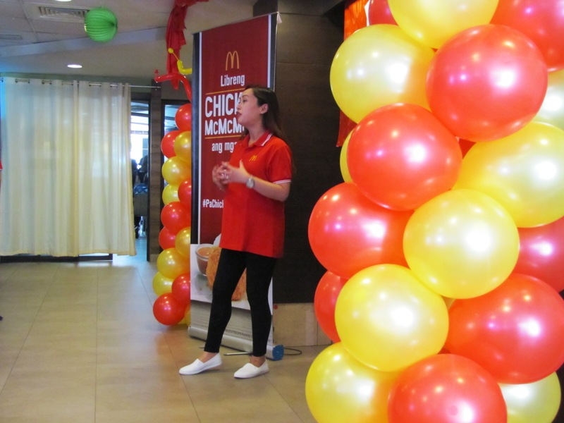 A Joy-ful Friday with Free Chicken McMcMcDo