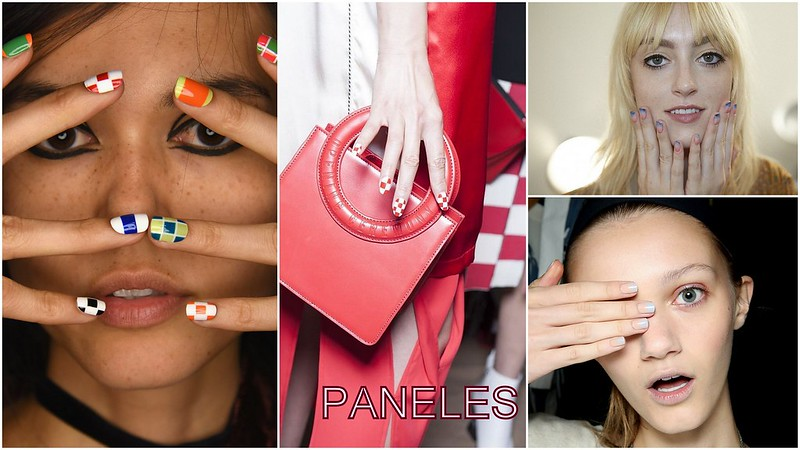 Tendencias de uñas: Paneles de color