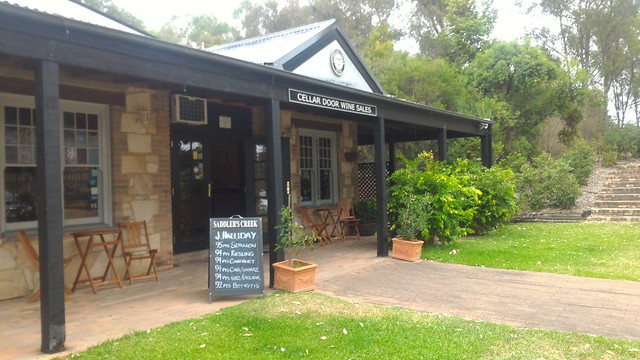 saddlers creek winery pokolbin