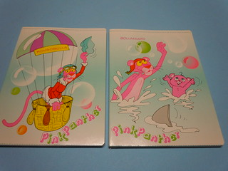 Pink Panther 1986 Notebooks
