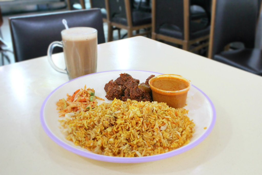 Lunch Places in Raffles Place: Shah Alam