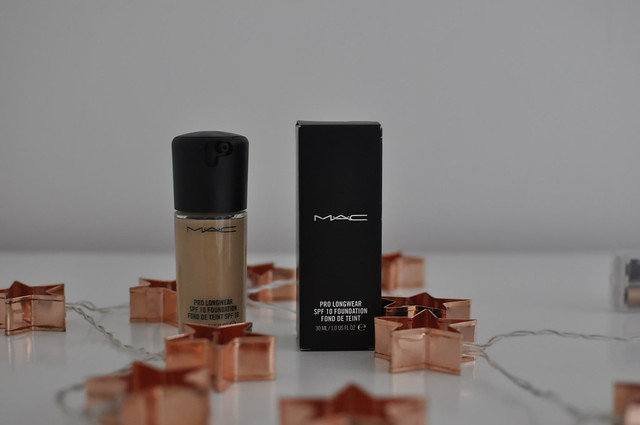 Mac Pro Longwear Foundation Review swatches skin