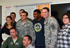 NFL great Herschel Walker visits Presidio