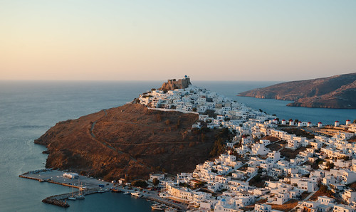 Chora. Astypalaia, Greece