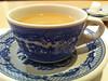 Después de ver la pelicula el Renacido un café y rol de canela.
