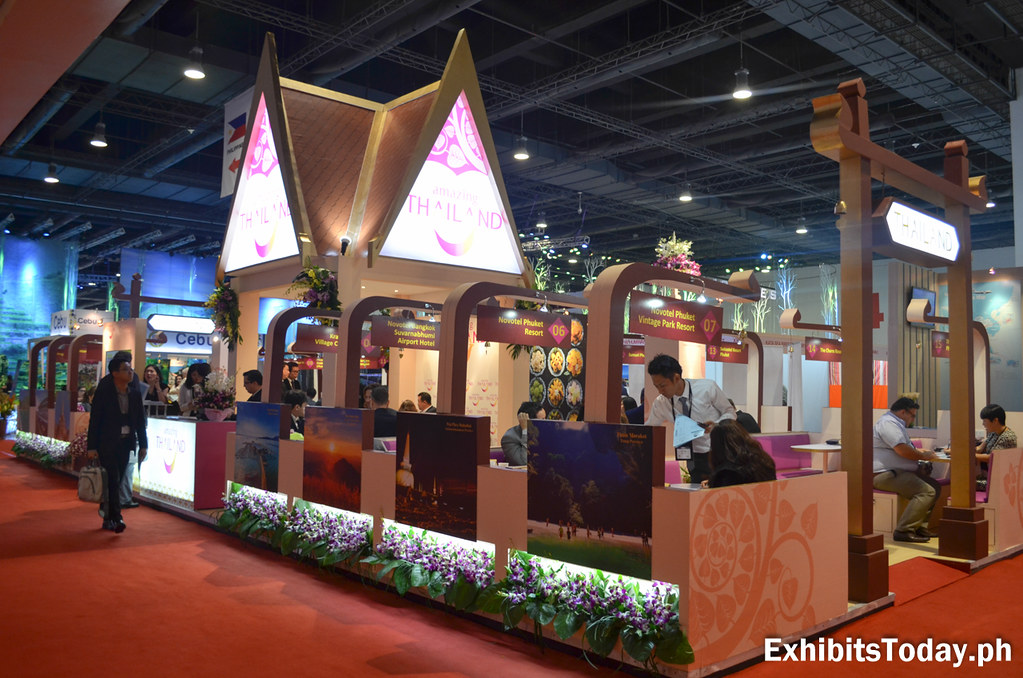 Amazing Thailand Trade Show Display (side)