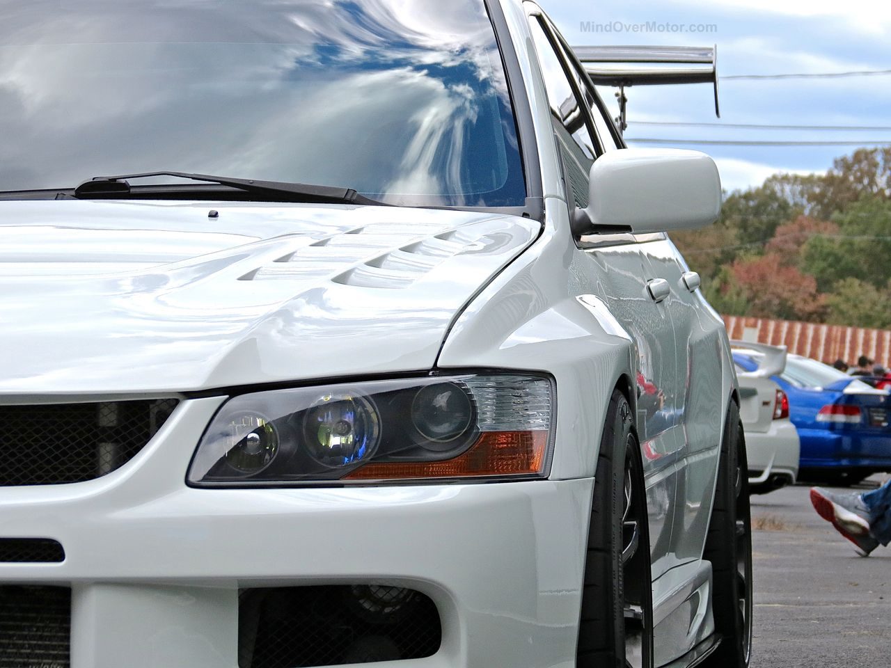 Modified Mitsubishi Lancer Evo First Class Fitment 1