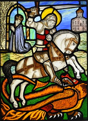 George & The Dragon by John Hardisty