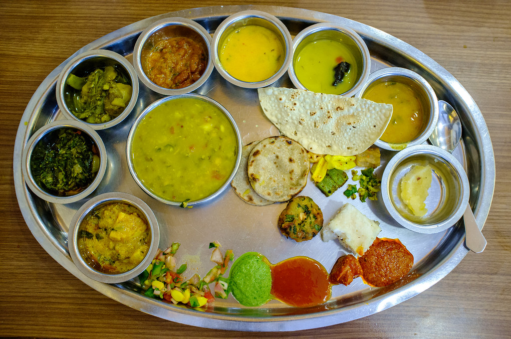 Thali at Rajdhani